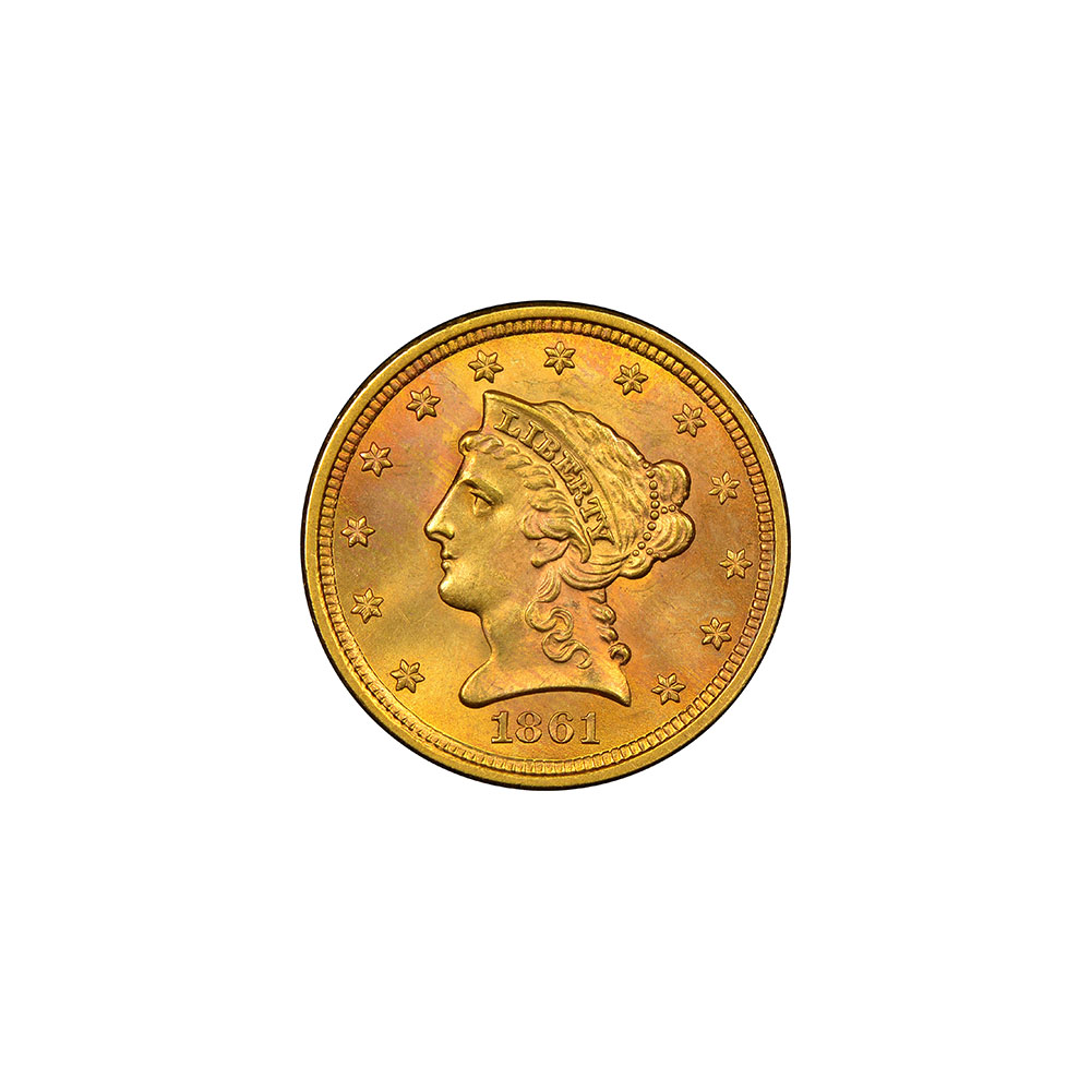$2.5 Liberty Gold Coins