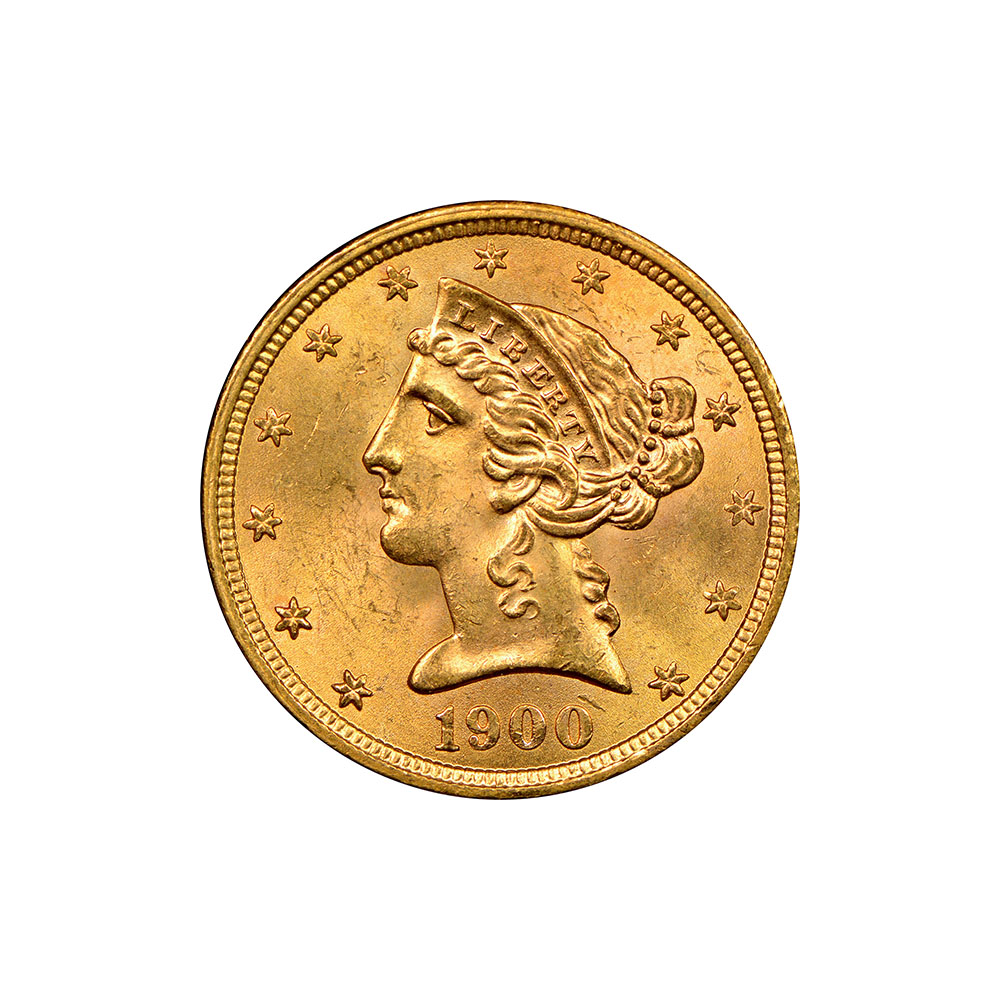 $5 Liberty Gold Coins