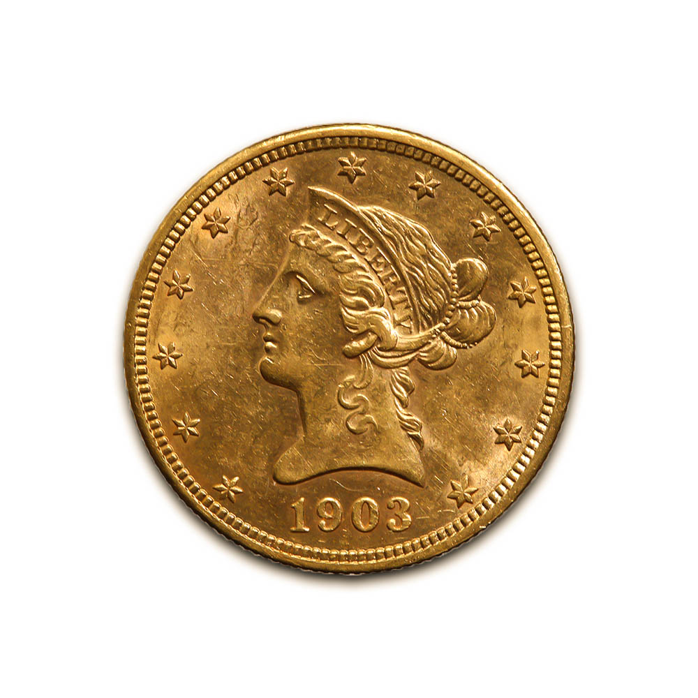 $10 Liberty Gold Raw Coins