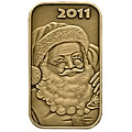 2011 Bronze Christmas Coins & Bars