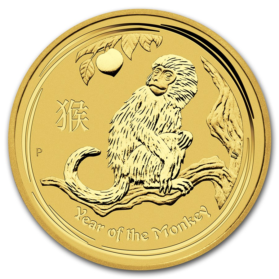 Lunar Series II Gold One Ounce