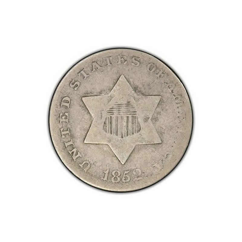 Three Cent Silver Good