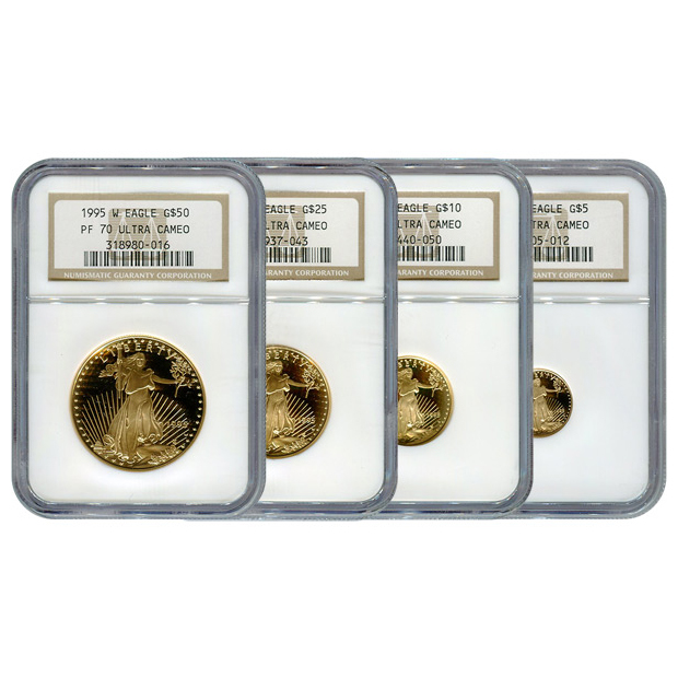 Certified Proof Gold Eagle Sets