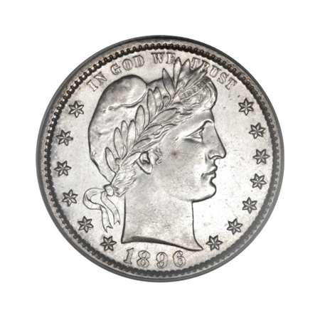 Barber Quarters Almost Uncirculated Condition