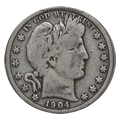 Barber Half Dollars Very Good