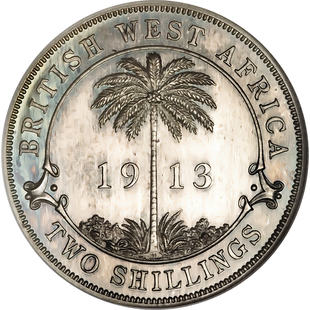 British West Africa World Coins