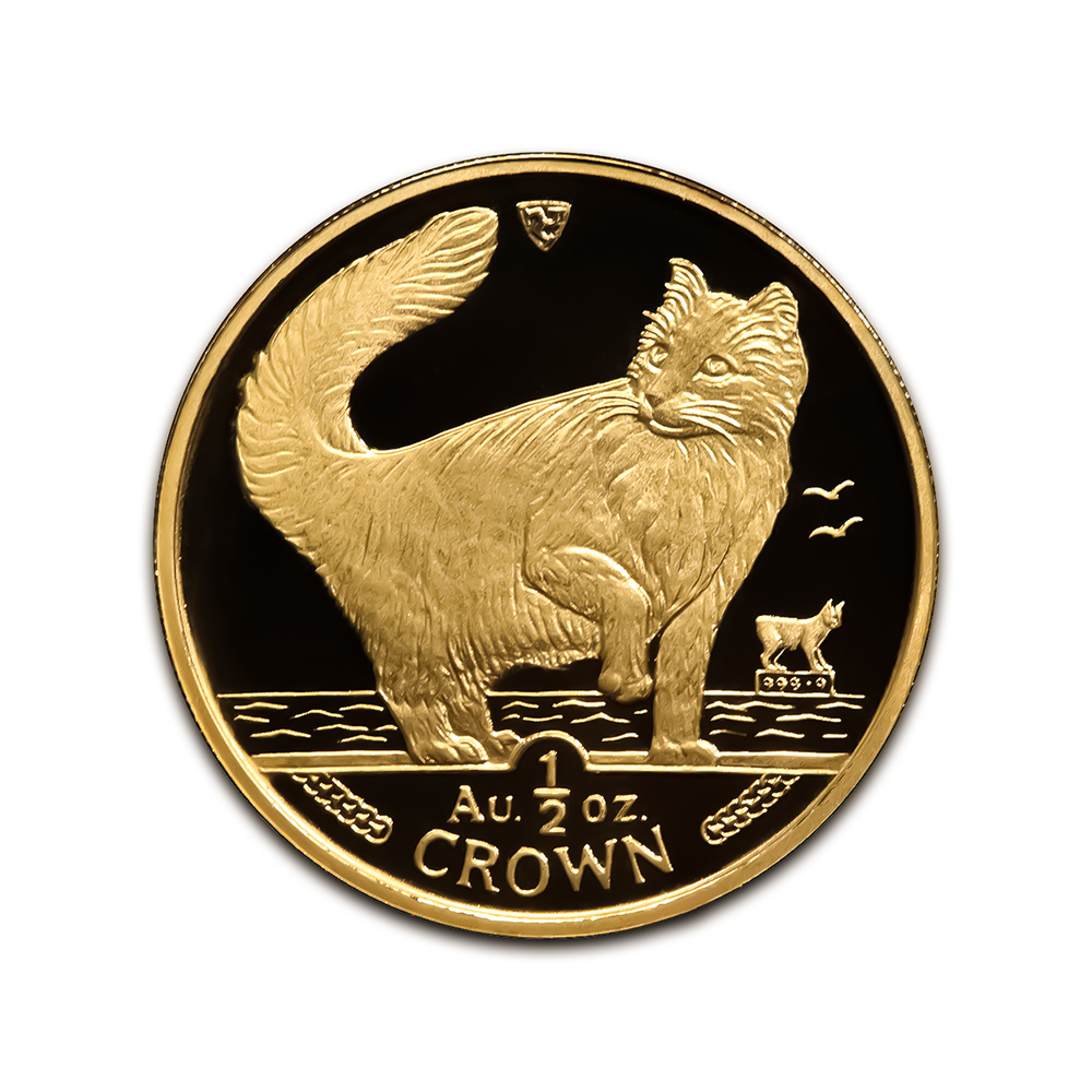 Isle Of Man Gold Cats Half Ounce