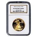 Certified Proof Gold American Eagles