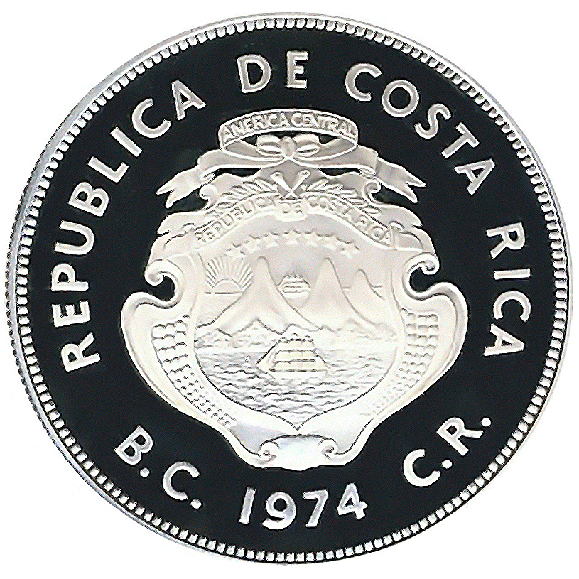 Costa Rica World Coins