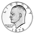 Single Eisenhower Dollars