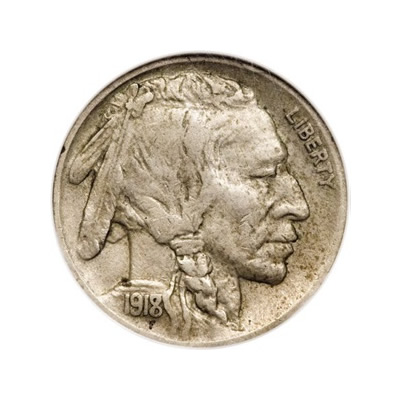 Buffalo Nickels Extra Fine Condition