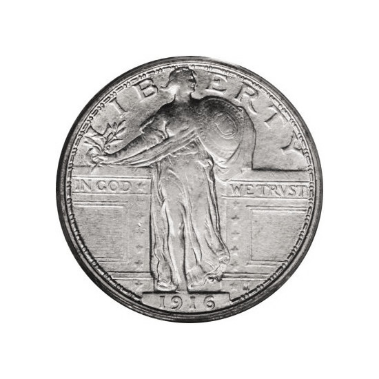 Standing Liberty Quarters Extra Fine Condition