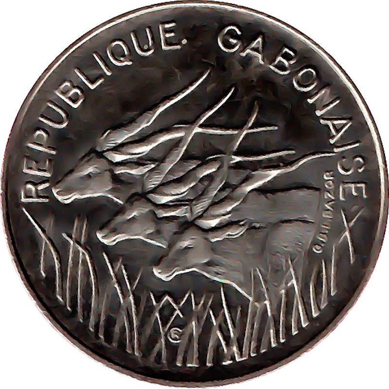 Gabon World Coins