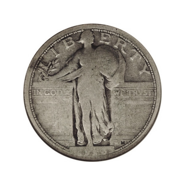 Standing Liberty Quarters Good Condition