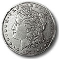 Morgan Silver Dollars Extra Fine Condition