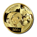 Chinese Gold Pandas One Ounce