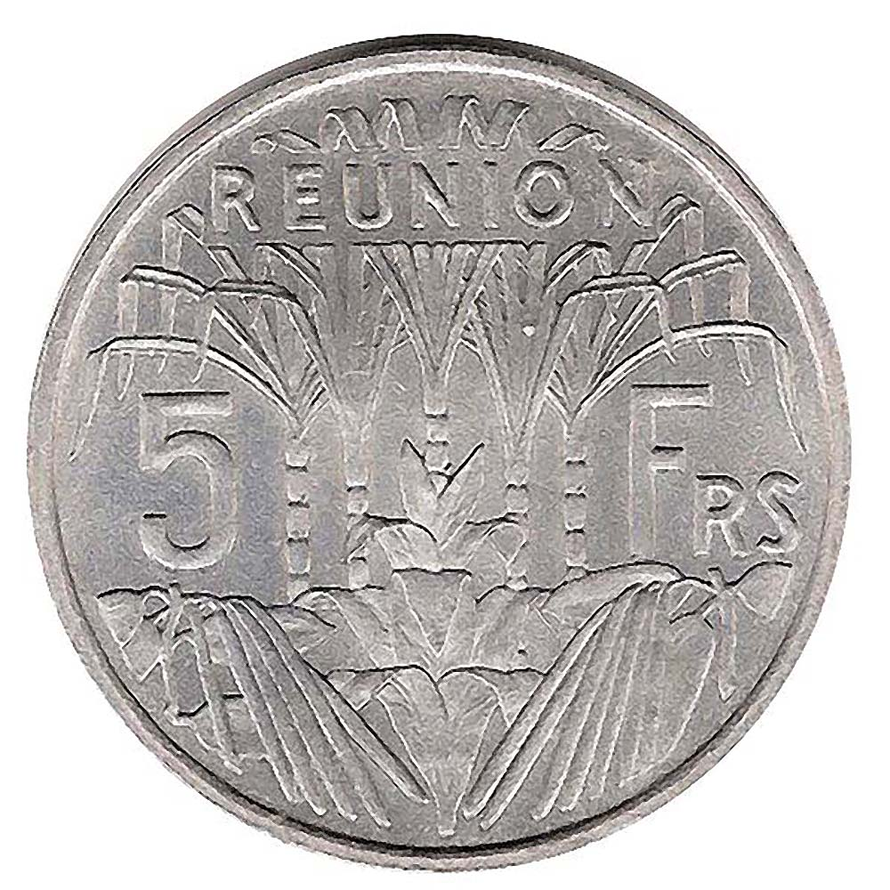 Reunion Island World Coins