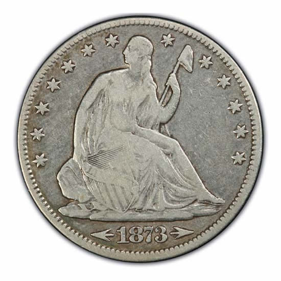 Seated Liberty Half Dollars Fine