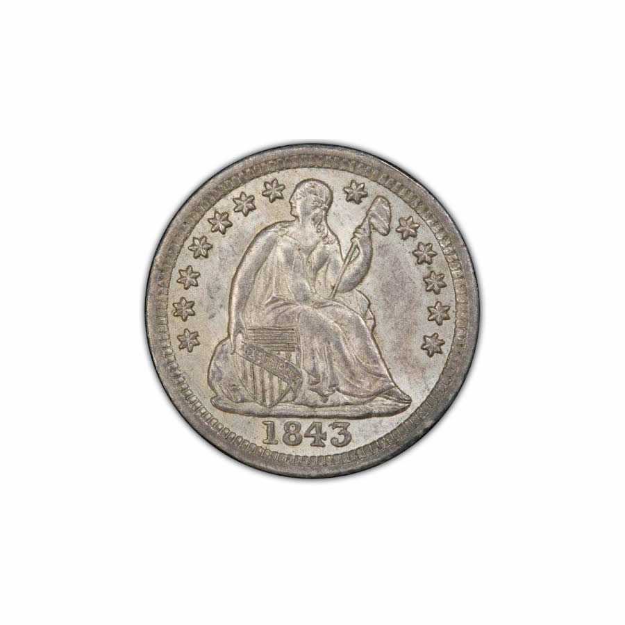Seated Liberty Half Dimes Almost Uncirculated