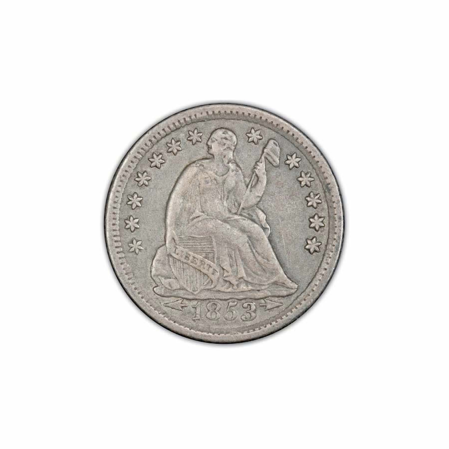 Seated Liberty Half Dimes Very Fine