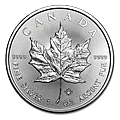 1 oz Silver Maple Leafs