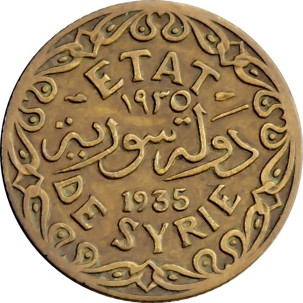 Syria World Coins
