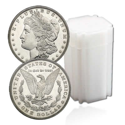 Uncirculated Morgan Dollar Rolls