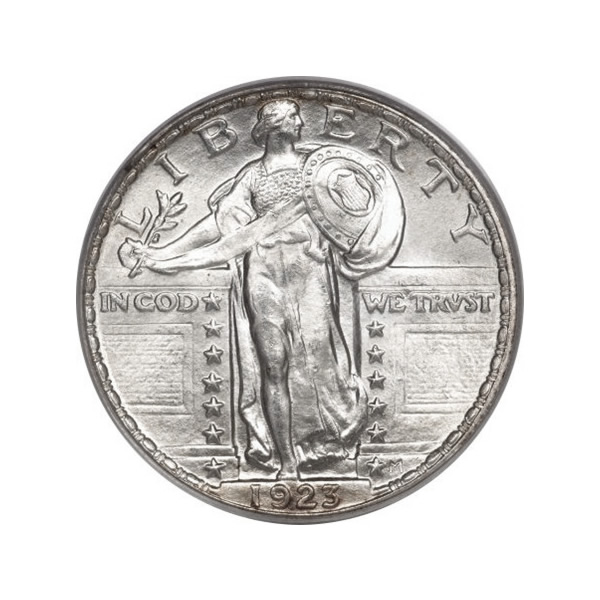 Standing Liberty Quarters Uncirculated Condition