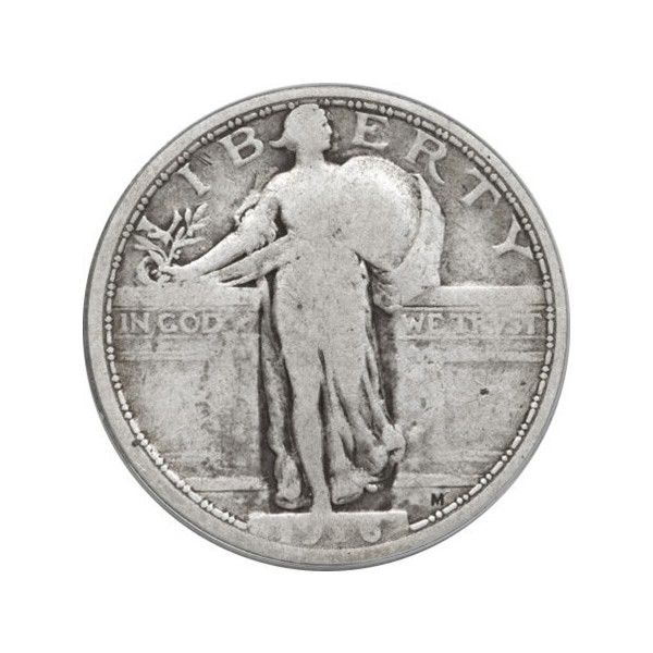 Standing Liberty Quarters Very Good Condition