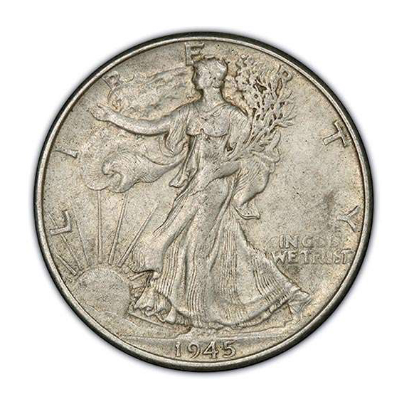 Almost Uncirculated Walking Liberty Half Dollars