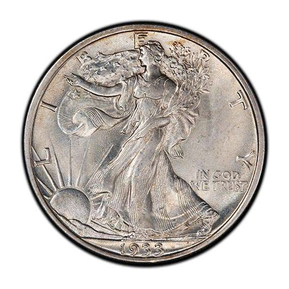 Uncirculated Walking Liberty Half Dollars