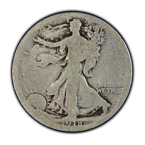 About Good Walking Liberty Half Dollars
