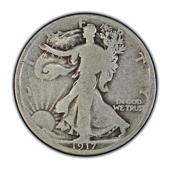 Good-Very Good Walking Liberty Half Dollars