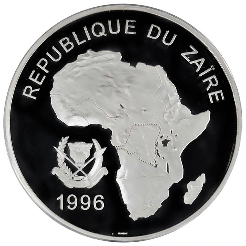 Zaire World Coins