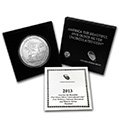 Silver America The Beautiful 5 oz Coins (Burnished w Box and COA)