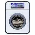 Silver America The Beautiful 5 oz Certified Coins