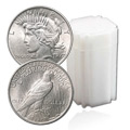 Peace Dollar Rolls By Date