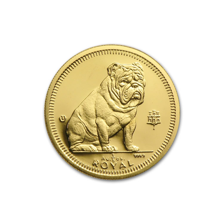 Gibraltar Gold Dogs 5th Ounce