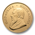 Uncirculated South African Gold Krugerrands