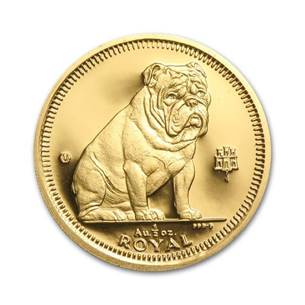 Gibraltar Gold Dogs Half Ounce