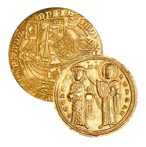 Byzantine & Medieval Gold and Silver Coins