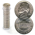 Uncirculated Jefferson Nickel Rolls