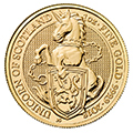 British Royal Mint Queen's Beast Gold Coins