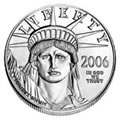 Uncirculated American Eagle Platinum