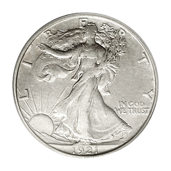 Extra Fine Walking Liberty Half Dollars