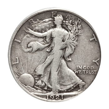 Fine Walking Liberty Half Dollars