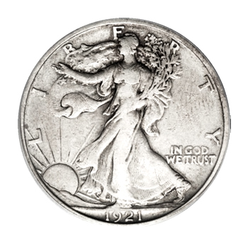 Very Fine Walking Liberty Half Dollars