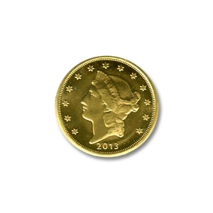 Gold Rounds: Tenth Ounce Gold Round  (Brand of our Choice)
