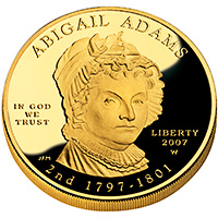 First Spouse 2007 Abigail Adams Proof