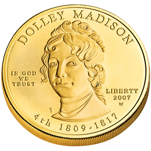 First Spouse 2007 Dolley Madison Uncirculated
